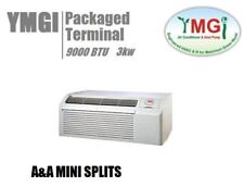 Ymgi 9000 Btu Ptac 208-230V Air Conditioner With 3Kw Heater Sleave Kit 09K-12B