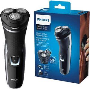 Rasoio elettrico Philips S1332/4 PowerCut + Rifinitore precisione, Testine Flex