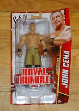 2013 WWE WWF Mattel John Cena Wrestling Figure MIP Superstar #52 Royal Rumble