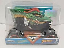 Dragon (2020) Spin Master Monster Jam 1:24 Scale Die-cast Monster Truck Green