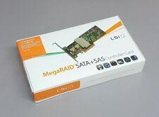 LSI Megaraid SAS 9260-4i SATA / SAS 512MB Controller RAID 5 6G PCIe x8 2.0 NEU
