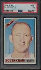 1966 Topps #543 Roger Craig SP PSA 7  NM 56317