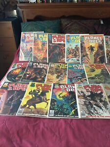 PLANET OF THE APES #1-29  magazine POTA Curtis complete