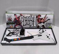 Guitar Hero 2 Xbox 360 Wired USB Xplorer Controller Strap Rockband Game Box