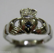 Claddagh White Gold Fine Rings
