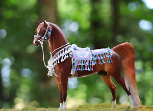 Breyer Horse Peter Stone Arabian costume Saddle, Bridle and Chest Piece