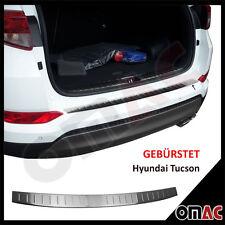 Gebürstet Ladekantenschutz V2A Edelstahl Für Hyundai Tucson ab 2015