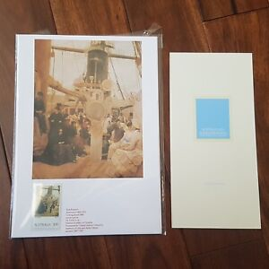 """1989 Australia Post """"Australian Impressionists Our Heritage in Stamps"""" bookmark"""
