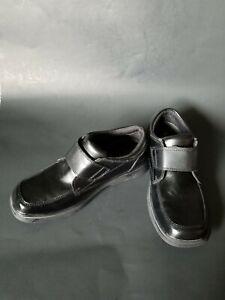 Sperry Top Sider Miles Hook & Loop Leather School Uniform Oxford Dress Size 2M