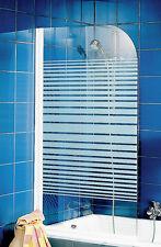 SCHULTE Badewannenfaltwand EP1650, 5 mm Sicherheitsglas mit Dekor
