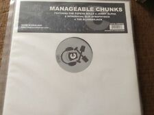 "manageable chunks - abstract drum and  bass , 12"" vinyl"