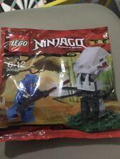 LEGO Ninjago 30082 polybag sealed with minifig. Free Post