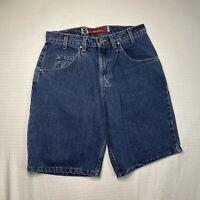 VTG Silver Tab Levi's Mens Size 32 Blue Denim Distressed Jean Shorts MISSING TAG