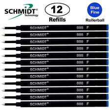 Schmidt  Fine Rollerball Pen Refill - 12 Pcs - Blue 888