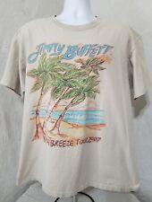 Jimmy Buffett Gillette Stadium Foxboro Bama Breeze Tour T-Shirt 2007 Mens Xl