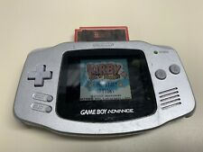 NINTENDO GAMEBOY ADVANCE GREY HANDHELD SYSTEM AGB-001 *FULLY TESTED*