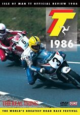 Isle of Man TT - Official Review 1986 (New DVD) Motorcycle Road Racing Bike