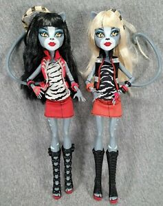 Monster High Werecat Twin Sister Purrsephone & Meowlody Set Toys R Us Exclusive