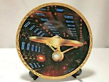 Star Trek *USS Enterprise NCC-1701-A* The Voyagers Collector Plate #0923E
