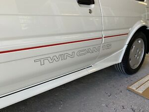 AE82 Toyota GT Twin Cam OEM Corolla Decal, Stickers