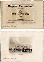 Meyer's Universum: VII. Bd., II. Lieferung. Mit 4 Stahlstichtafeln von 1840