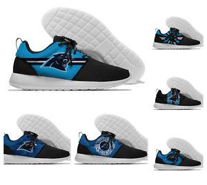 CAROLINA PANTHERS Men's Womens Lightweigh Shoes Sneakers Football Team Fans NEW
