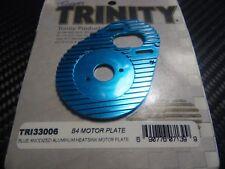 Trinity Tri33006 Blue Anodized alu Heatsink Motor Plate Asso B4