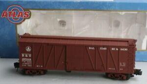 ✅ATLAS O 3-RAIL BALTIMORE & OHIO USRA SINGLE SHEATHED WOOD SIDE 40' BOX CAR! B&O