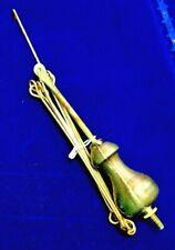 Balancier horloge pendulum French Comtoise coq clock uhr Morbier 18 e copie 2