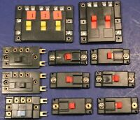 Lot HO N or G Scale Power Routing Slide Switch Selector Units