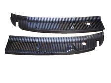 Ford Van E150 E250 E350 Wiper Cowl Grille Screen Plastic Insert Pair Set New OEM