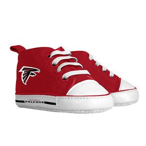 Atlanta Falcons Baby Shoes, NFL Pre-Walker Hightops High Tops