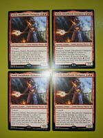 Neheb, Dreadhorde Champion x4 War of the Spark 4x MTG Magic the Gathering
