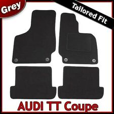 Audi TT Coupe Mk2 2006-2014 Tailored Fitted Carpet Car Floor Mats GREY