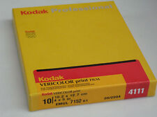 KODAK PROFESSIONAL Vericolor Print Film 4 X 5. Hurry! Stock running out!