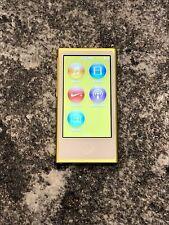 Apple iPod nano 7th Generation Yellow (16GB) MINT Condition! Free Shipping!