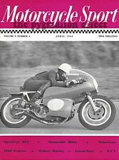 Motorcycle Sport Magazine April 1968 – BSA Nash Hill Motocross Mallory Park