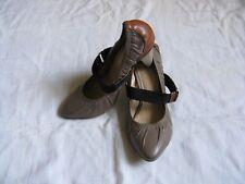 BRONX Damen Schuhe Pumps Leder Riemchen Gr.38 US 7 women high heel leather