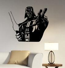 Darth Vader Wall Decal Star Wars Vinyl Sticker Art Fantastic Movie Decor sws6
