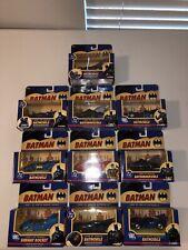 CORGI DC Comics Batman 1990's & 2000 Batmobile Subway Rocket VHTF Lot Of 10.