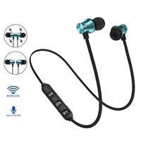 New Bluetooth 4.2 Earphone Wireless Magnetic In-Ear Earbuds Headphone ca
