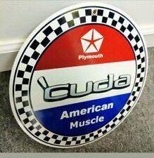 Plymouth Barracuda sign