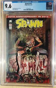 Spawn #217 CGC 9.6 Michael Golden Freak Cover Rare