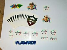 Lot of 2009 ish Era Flatface Fingerboards Stickers Tech Deck, Berlinwood