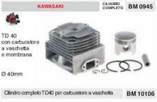 CILINDRO E PISTONE DECESPUGLIATORE KAWASAKI TD40 TD 40 Ø 40 KIT  gruppo termico