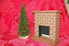 "MINIATURE CHRISTMAS TREE /  Doll House, Model Railroad, Craft Supplies- 7"" Tall"