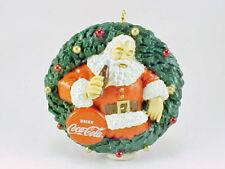 Coca Cola Santa Christmas Ornament Bottle Cap 2010 American Greetings New In Box
