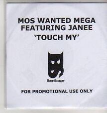 (AZ502) Mos Wanted Mega ft Janee, Touch My - DJ CD
