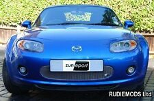 Zunsport Mazda MX5 Mk3 2006-2009 Front Lower Grille Stainless Polished