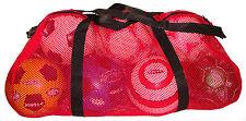 NEW Red Mesh Duffel Bag Soccer Football Basketball gear